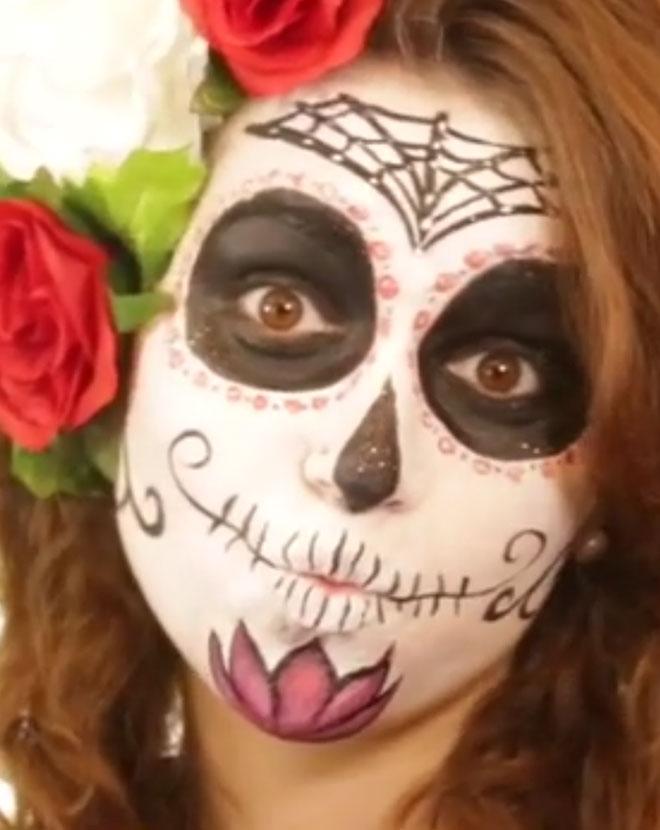 Halloween Schminken Schminkideen Schminktipps Gesichter Make Up